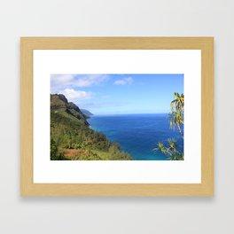 Kauai Scene Framed Art Print