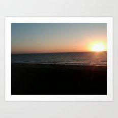 Sunrise Amelia Island Art Print
