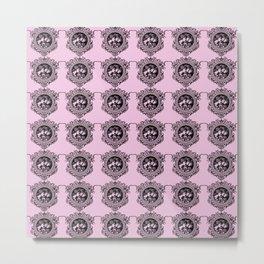 three women pink Metal Print