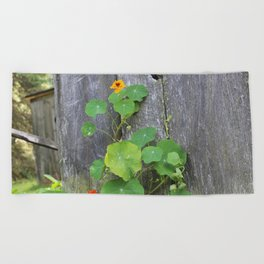 The Garden Wall Beach Towel