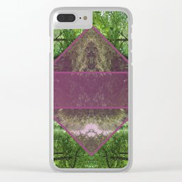 paris park Clear iPhone Case