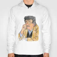 kurt vonnegut Hoodies featuring Vonnegut by McHank