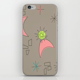 Boomerangs and Starbursts iPhone Skin