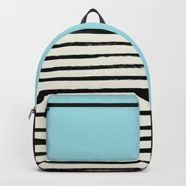 Sky Blue x Stripes Backpack
