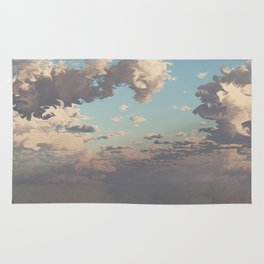 Water Meets Sky (Cloud series#10) Rug