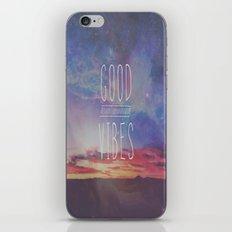 good vibes, good days iPhone & iPod Skin