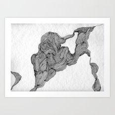 Musculaire Art Print