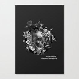 Burcu Korkmazyurek x Rituals of Mine Canvas Print