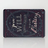 jane eyre iPad Cases featuring Destiny – Jane Eyre by Leah Doguet