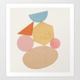 Abstraction_Balances_006 Art Print