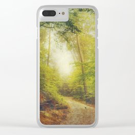 Dreamy Forest Clear iPhone Case