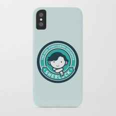 Sherlock iPhone X Slim Case