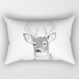 Just a deer Rectangular Pillow