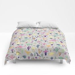 Dinosaur Desert Comforters