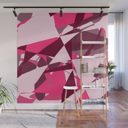 Entropy Four: On Wednesdays We Wear Pink Wall Mural