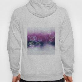 Abstract Purple Bubble Art Hoody
