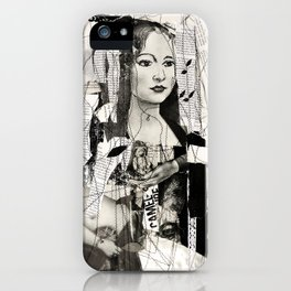 to be a woman, to be a girl iPhone Case