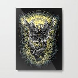 Paradise Lost - milton Metal Print