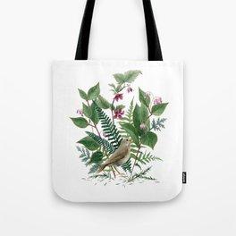 Woodland Birdsong Tote Bag