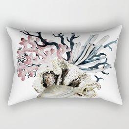 Soft Coral Rectangular Pillow