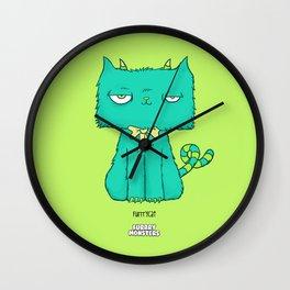 Furrrycat Wall Clock
