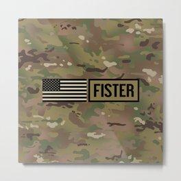 Fister (Camo) Metal Print