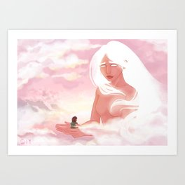 Guardian Angel Print Art Print