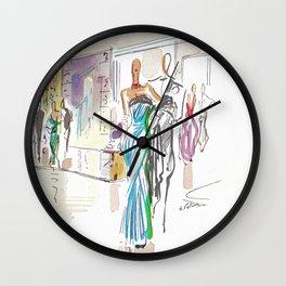 Italian Line Wall Clock