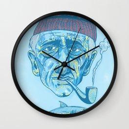 Cousteau. Wall Clock