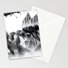 Little Home Mountains Landscape Stationery Cards