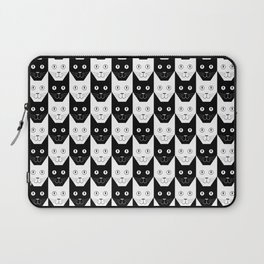 Black cat, white cat Laptop Sleeve