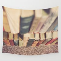 library Wall Tapestries featuring The Library by Jessica Torres Photography