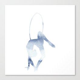 Aerial Hoop Gazelle Canvas Print