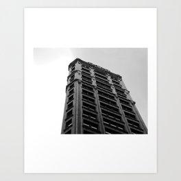 Look up New York 7 Art Print