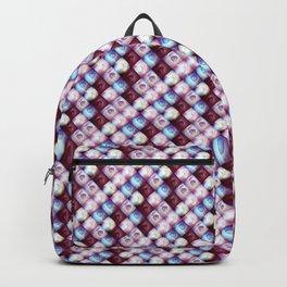 tile-pattern Backpack