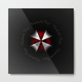 RESIDENT EVIL - UMBRELLA Metal Print