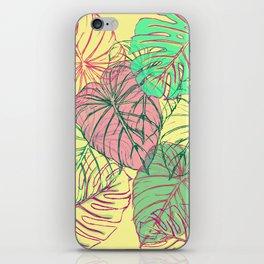 Jungle Leaves iPhone Skin