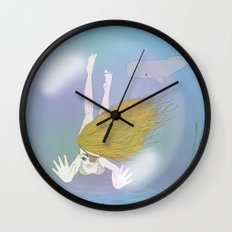 bubble Wall Clock