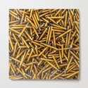 Pencil it in / 3D render of hundreds of yellow pencils by grandeduc