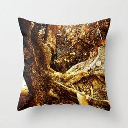 Nature Elders Throw Pillow