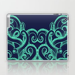 Octopus and the Deep Blue Sea Laptop & iPad Skin