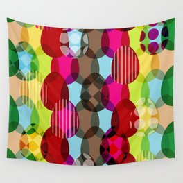 Eggs pattern Wall Tapestry