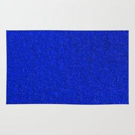 Blue Fleecy Material Texture Rug