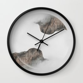 Montain Relations Wall Clock