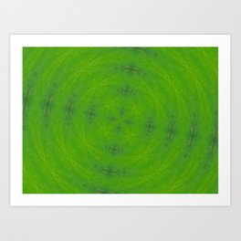Go Green! Art Print