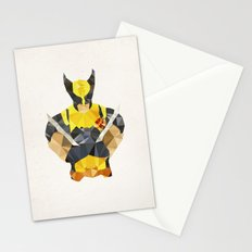Polygon Heroes - Wolverine Stationery Cards