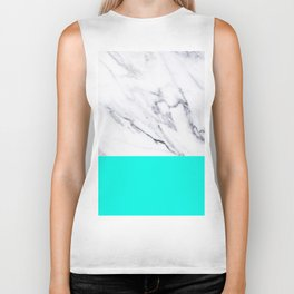 Marble Blue Luxury iPhone Case and Throw Pillow Design Biker Tank