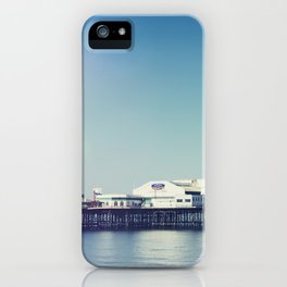 Summer pier iPhone Case