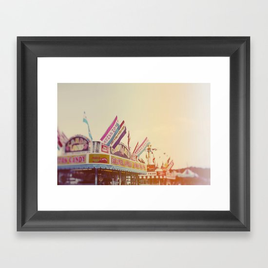 All Things Good Framed Art Print