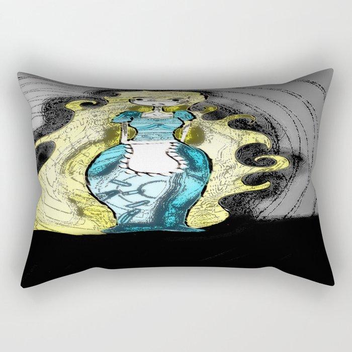 Dark Allie. Rectangular Pillow